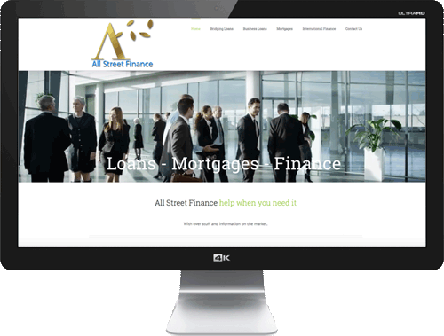 All Street Finance - UK Business & Personal Loans
